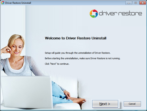 Uninstall Instructions for Driver Restore