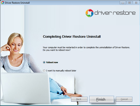 Completely Uninstall Driver Restore