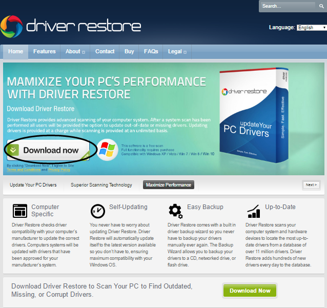 Download Driver Restore