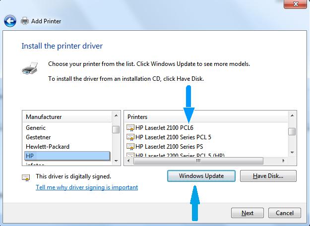 How To Remove A Corrupt Printer Driver Windows 7