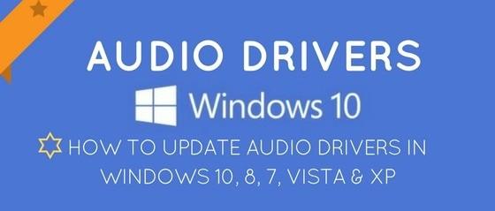 Update-Audio-Drivers-Windows-10