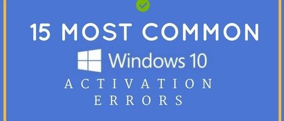 Windows-10-Activation-Errors