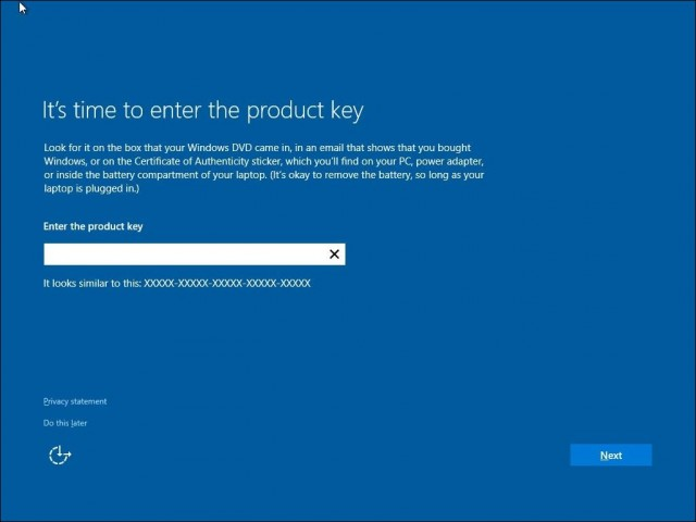 Windows 10 activation-Product-Key