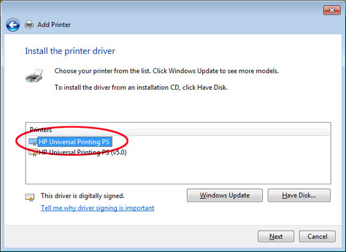 Universal Print Driver Hp Official Site