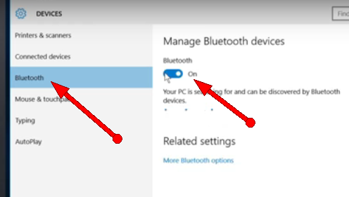 solve Bluetooth problems Windows 10