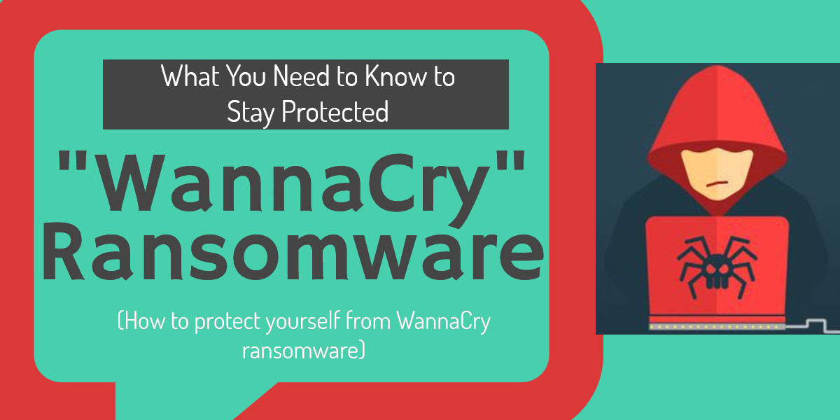 WannaCry - protect yourself from WannaCry ransomware