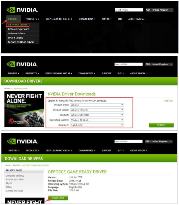 how to fix nvidia geforce driver