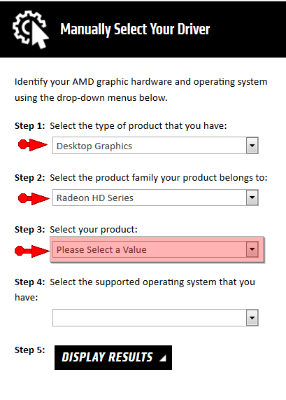 AMD Radeon Graphic HD Drivers